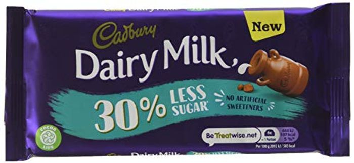 Cadbury's 30% Less Sugar Bar 85g