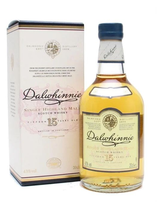 Dalwhinnie 15 Year OldSmall Bottle
