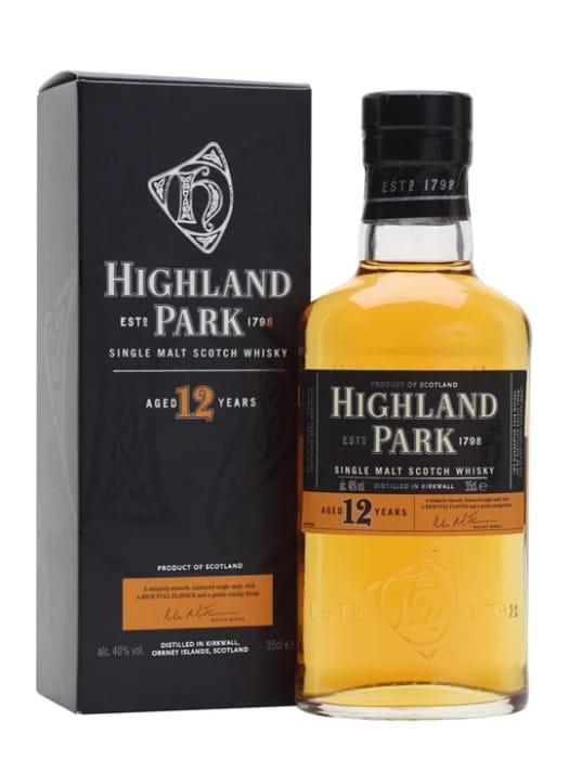 12 YEAR OLD / HALF BOTTLE  Highland Park 12 Year OldHalf Bottle