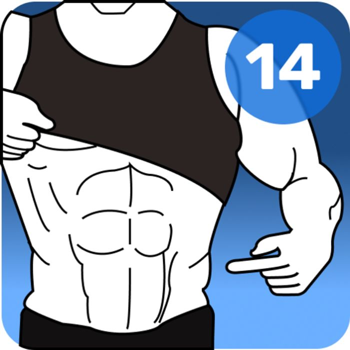 2 Week Abs Challenge Pro: 8 Minute Workout - Usually £2.39