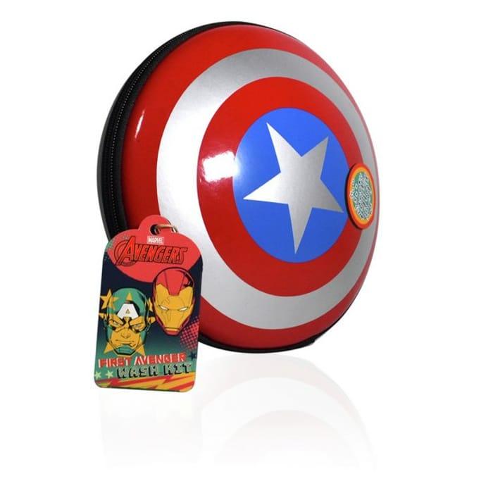 Marvel Captain America Wash Bag & Contents