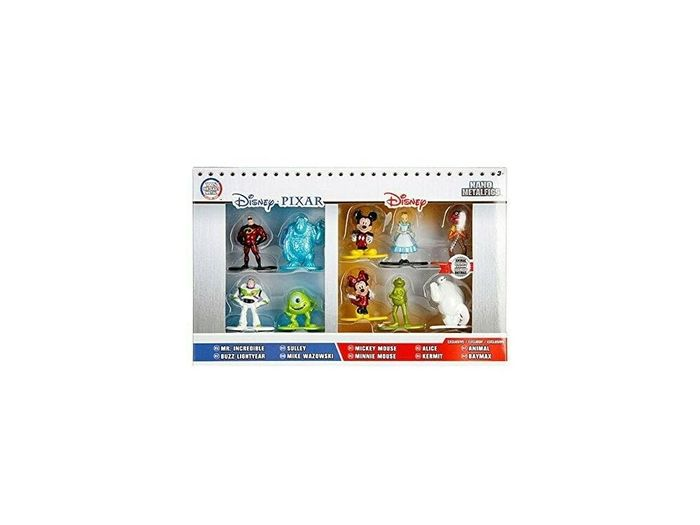 Cheap Disney Pixar Set 10 Mini Figure Metal 4cm Set at Toytownstores
