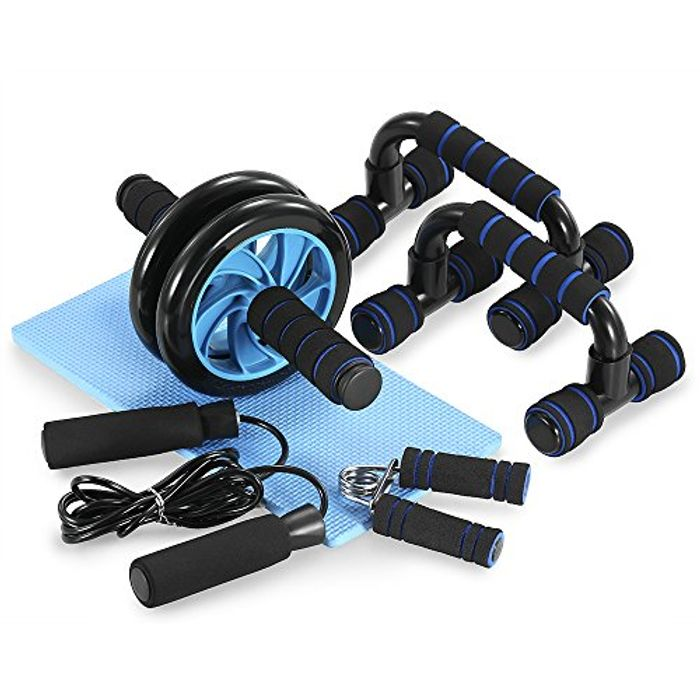 TOMSHOO 5 Pieces Fitness Exercise Set