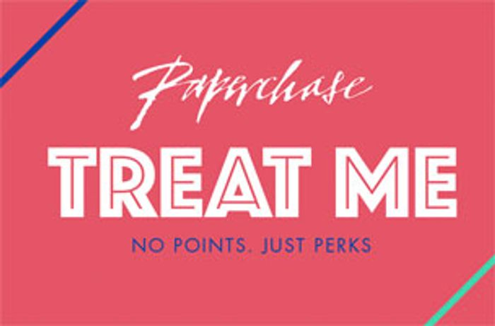 £5 Voucher on Your Birthday When You Join Paperchase Treat Me Club