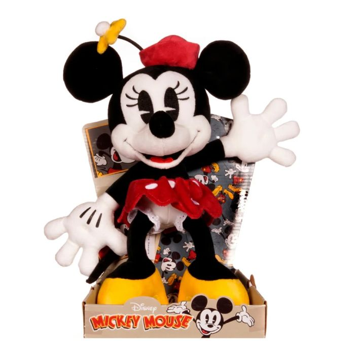"""Disney Minnie Mouse 90th Anniversary Limited Edition 12"""" Soft Toy"""