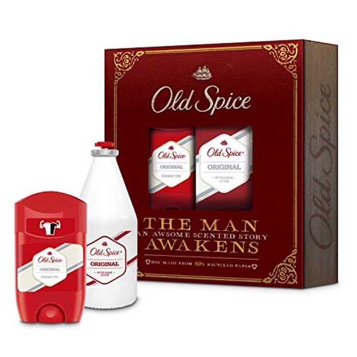 Old Spice Original Vintage Men Gift Set Christmas