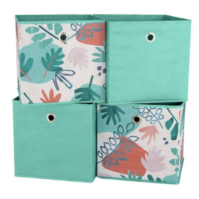 Argos Home Set of 4 Sahara Squares Boxes