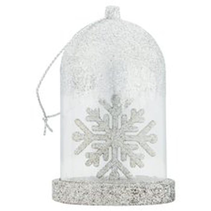 Tesco Glistening Grace Dome Hanging Decoration