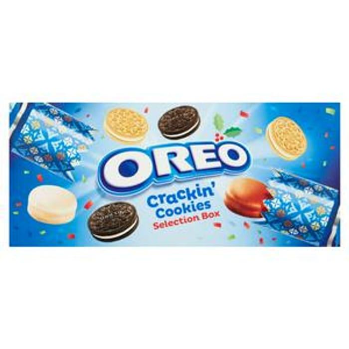 Oreo Crackin Cookies Selection Box
