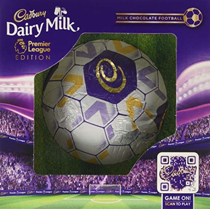 Cadbury Dairy Milk Hollow Chocolate Football, 256 G