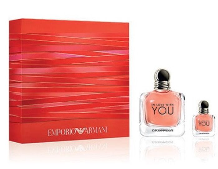 cheap Emporio Armani in Love with You 100ml Gift Set - Only £60.66!