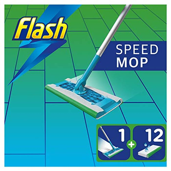 Flash Speedmop Starter Kit - £10 Prime / +£4.49 Non Prime