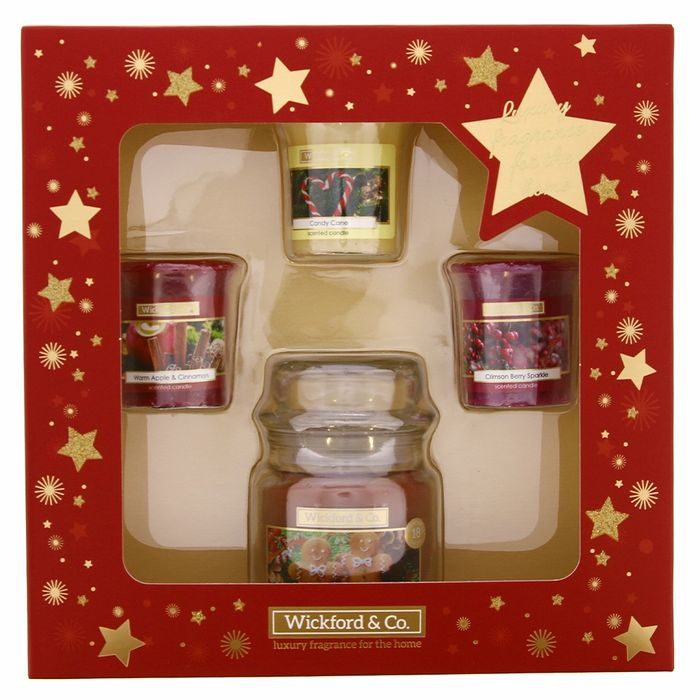 Wickford & Co. 4 Piece Candle Set