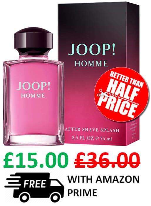 Best Price! Joop! Homme Aftershave Splash, 75ml
