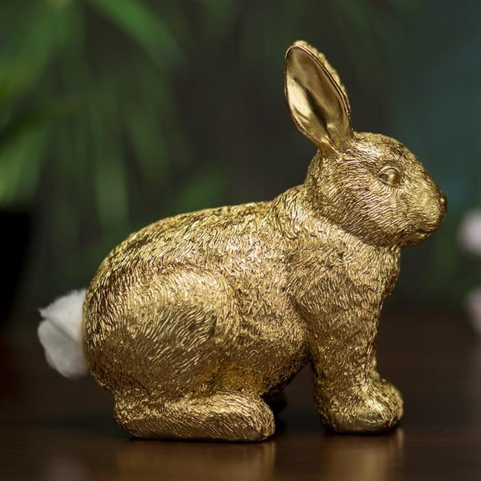 Golden Rabbit Cotton Wool Dispenser Was £11.99