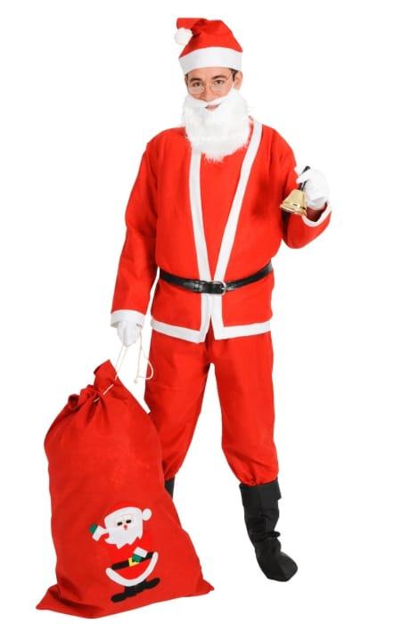 Adult Bargain Christmas Santa Costume £9.99