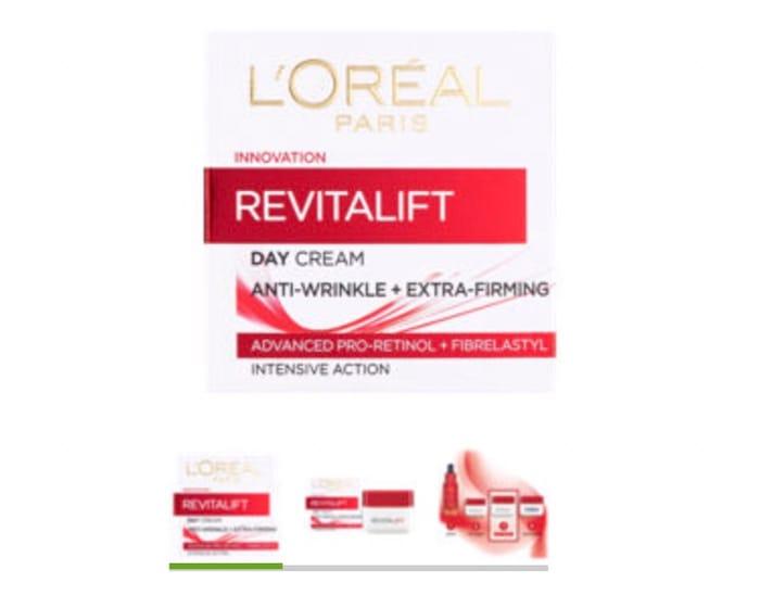L'Oreal Paris Revitalift Anti-Wrinkle + Firming Day Cream
