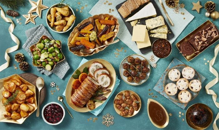 Morrisons Complete Christmas Meal Inc Desserts & Cheese - £40 Delivered