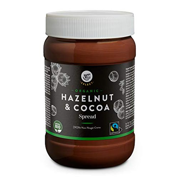Price Drop! Happy Belly Select - Organic Hazelnut and Cocoa Spread, 800g
