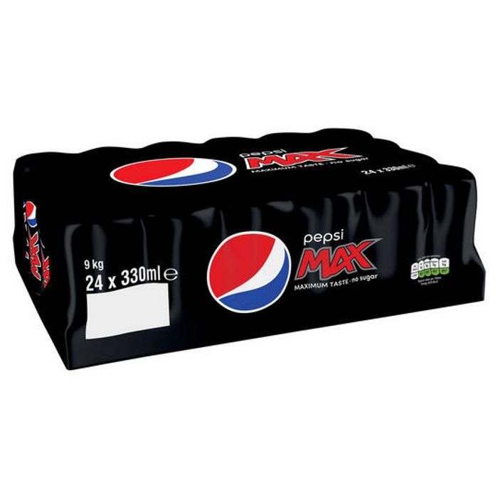 X 24 Cans Of Pepsi Max OR Pepsi Max Cherry - Only £6.00! (Online Only)