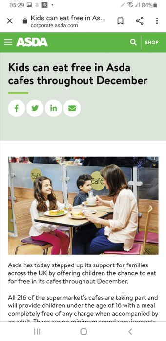 Kids Eat Free throughout December