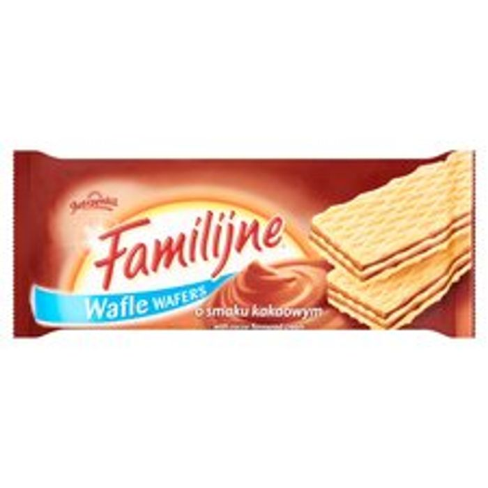 Jutrzenka Familijne Chocolate Wafers 180G Clubcard Price - Only £0.5!