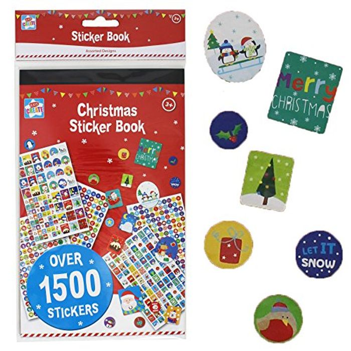 Mega Christmas Sticker Book - over 1500 Stickers