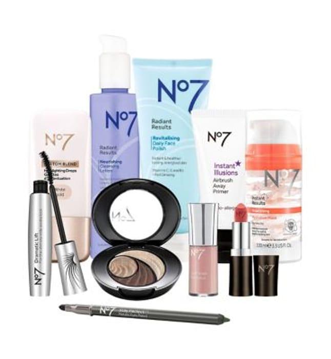 65% OFF! No7 Beauty Collection Bundle