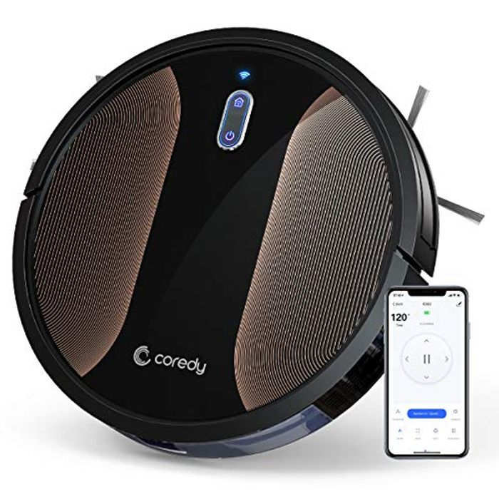 50% off Robot Vacuum Cleaner (Prime Delivery)
