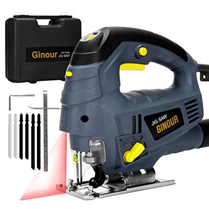 Electric 800W Laser Guide Jig Saw