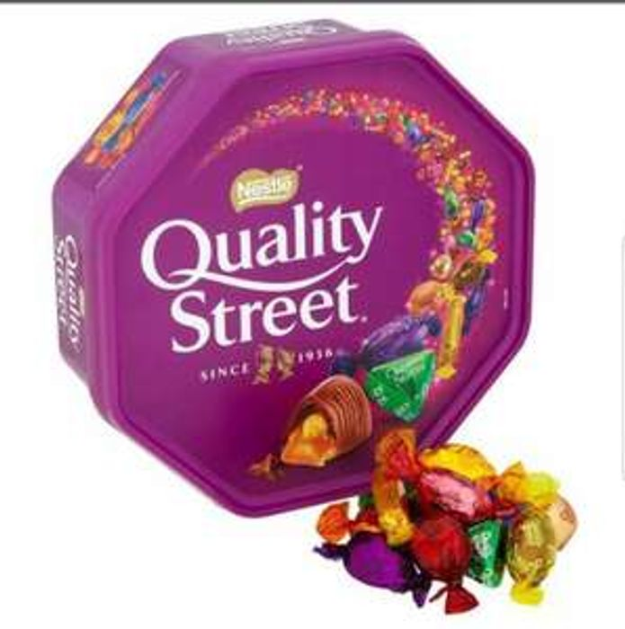 Quality Street 650g Tubs 3 for £10 FARMFOODS