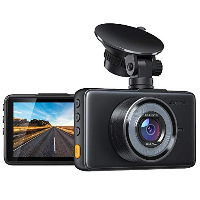 "1080P Car Dash Cam with 3"" LCD Screen"