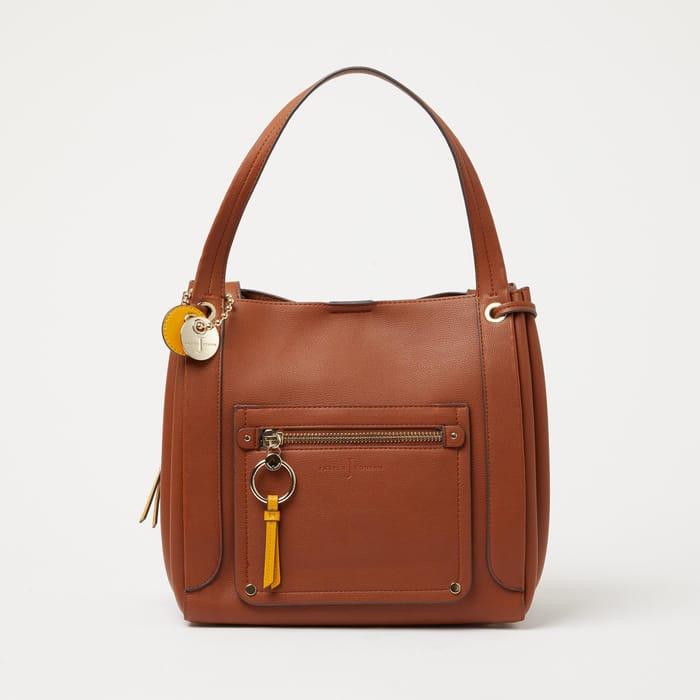 J by Jasper Conran - Tan Ring 'Collingdale' Bag