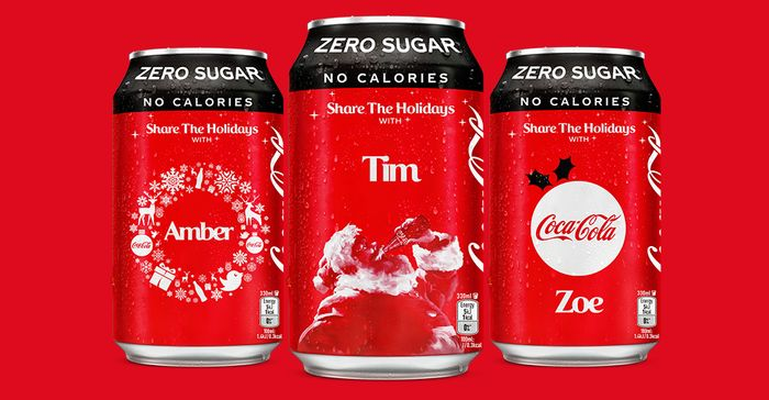 FREE Personalised Coca-Cola Cans at 9am Everyday