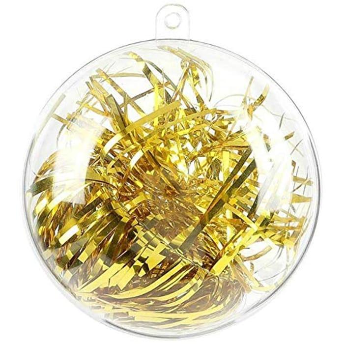 20Pcs 8cm Ornament Balls Fillable