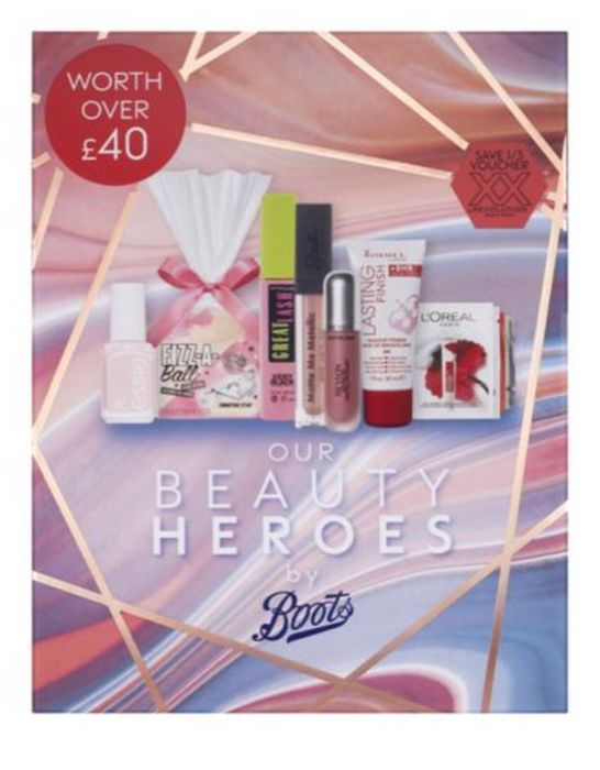 3 for 2 on Selected Elf Cosmetics, Boots Beauty Box Only £10 worth £40