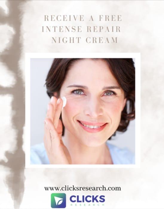 Free Intense Repair Night Cream - Clicks Research
