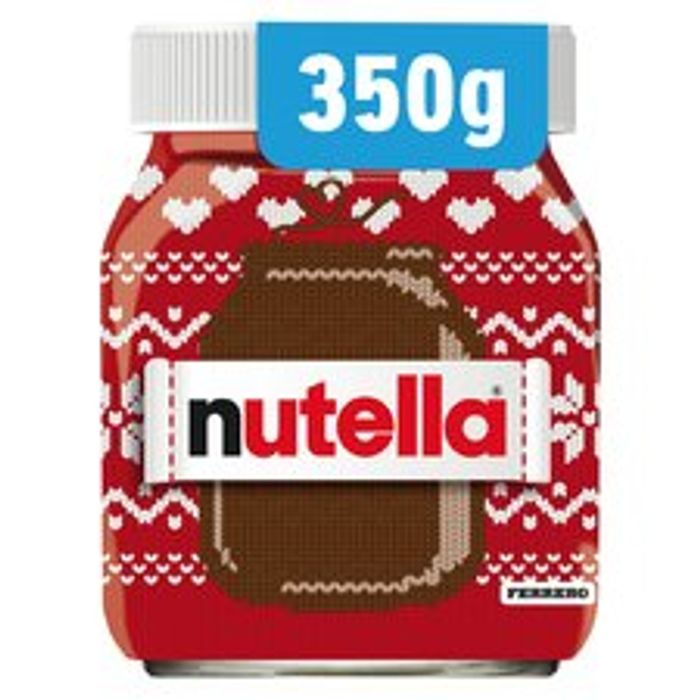 Nutella Chocolate Spread 350G - Clubcard Price - Only £2!
