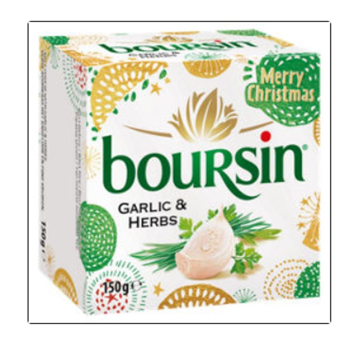 Boursin Soft Cheese with Garlic & Herbs - Only £1.5!