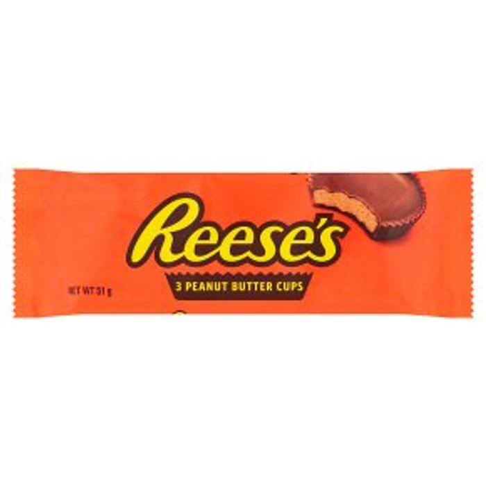 cheap Reese's 3 Peanut Butter Cups 51g - Only £0.45!
