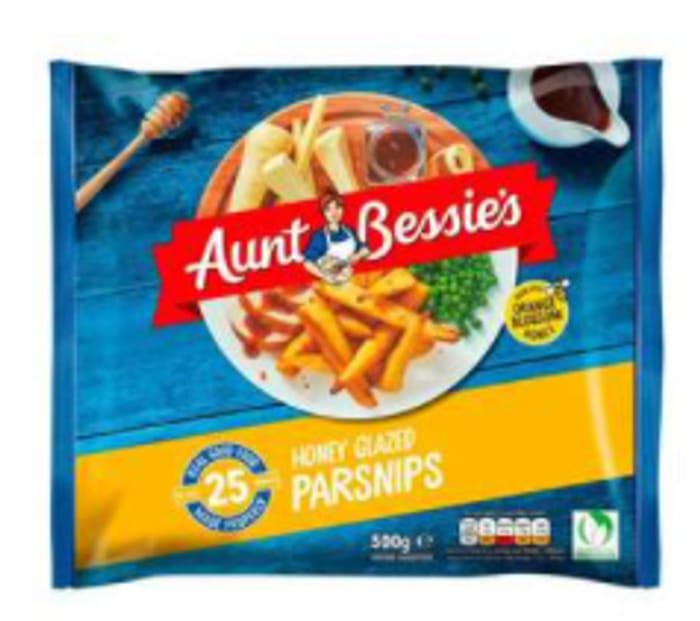 Aunt Bessie's Honey Glazed Roast Parsnips - Only £1!