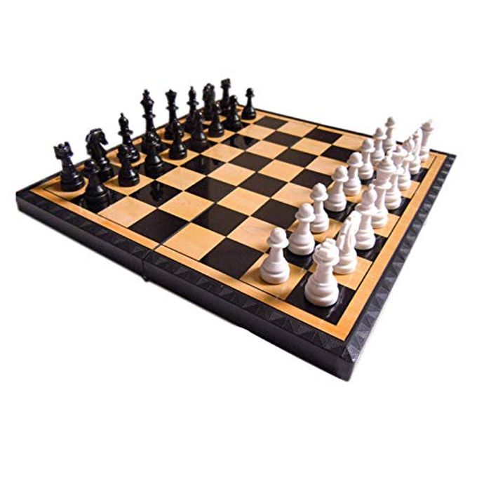 Wooden Chess Set Folding Large International Chess with £6 off Coupon