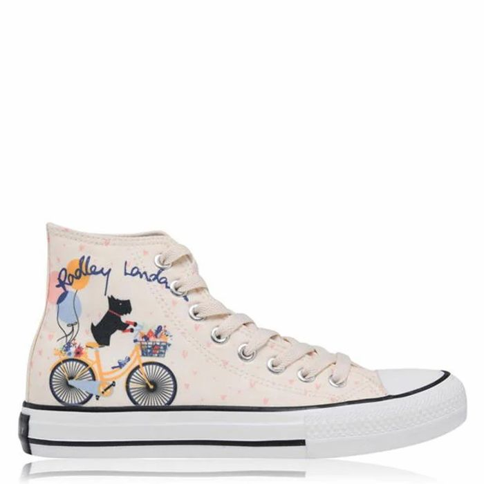 RADLEY High Canvas Trainers