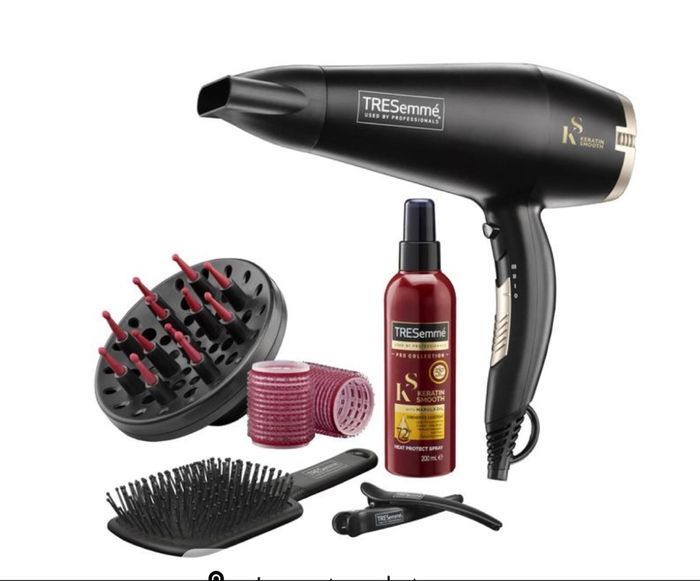 TRESemme Salon Dry and Style Hairdryer Set.Extra 10% Off Code WELCOME10