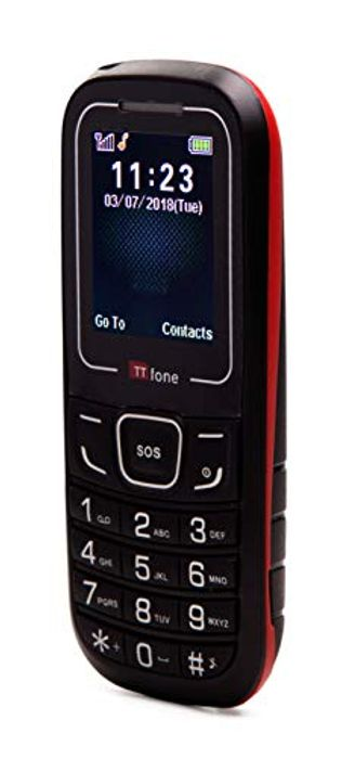 TTfone TT110 Cheap SOS Emergency Mobile Phone - Only £10!