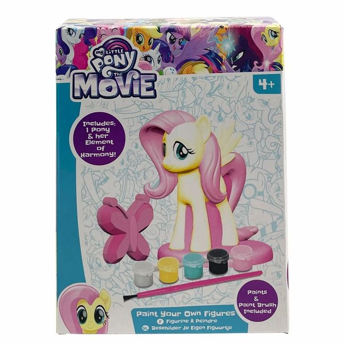 My Little Pony Paint Your Own Figure - Fluttershy / Pinkie Pie