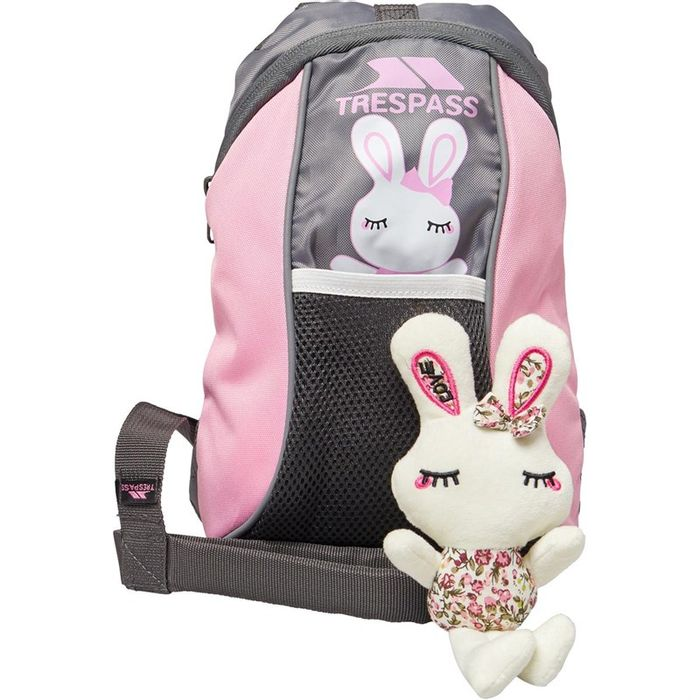 *SAVE £14* Trespass Girls Cohort 5 Litre Backpack Powder Pink