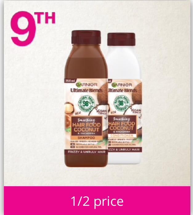 Todays Offer, Garnier Ultimate Blends Hair Food Coconut