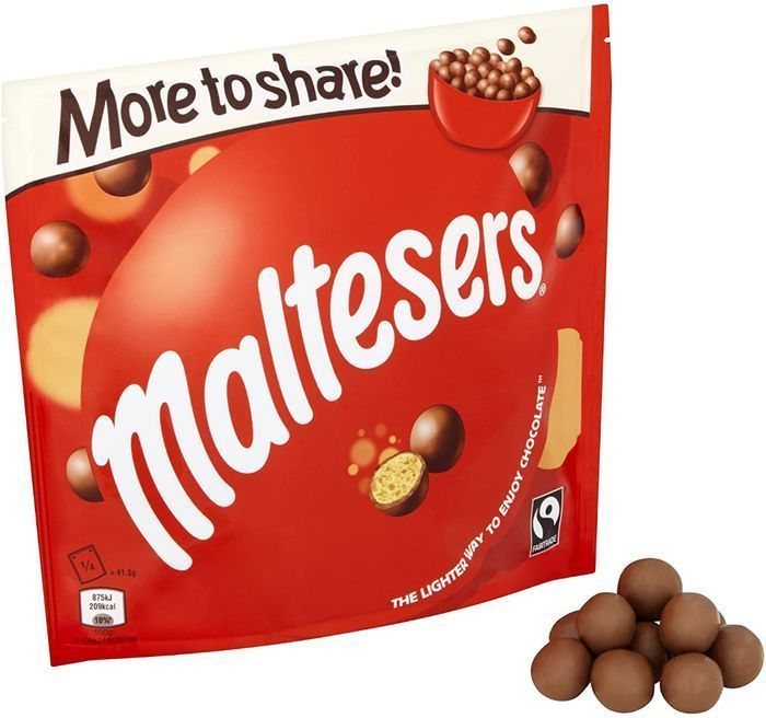 Cheap Maltesers Chocolate, More to Share Pouch, 189g at Amazon