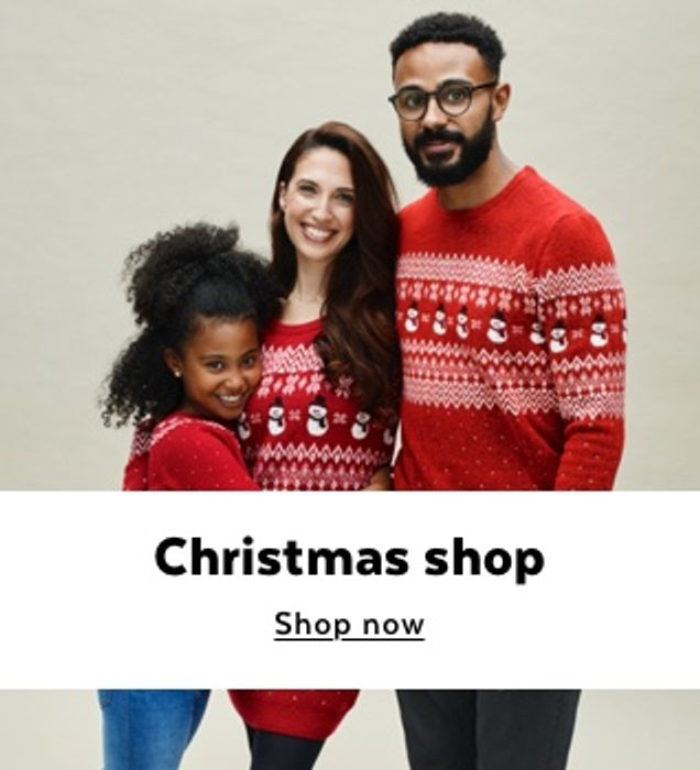 TU Clothing Christmas Gifts For Men, Women & Kids ALL Under £15!